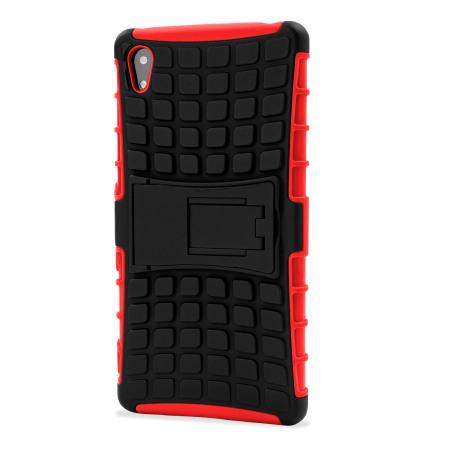 Olixar ArmourDillo Sony Xperia Z3+ Protective Case - Red