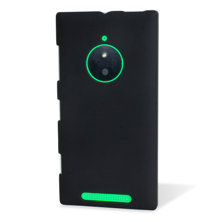 Olixar Rubberised Nokia Lumia 830 Hard Shell Case - Black