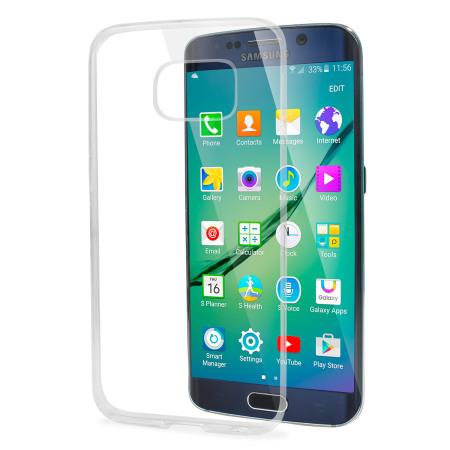 FlexiShield Ultra-Thin Samsung Galaxy S6 Edge - 100% Clear