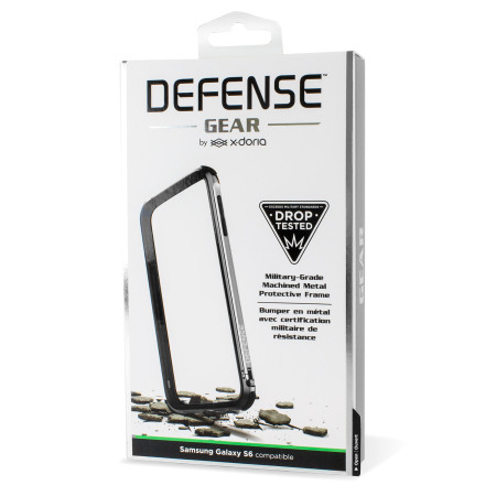 X-Doria Defense Gear Samsung Galaxy S6 Metal Bumper Case - Silver