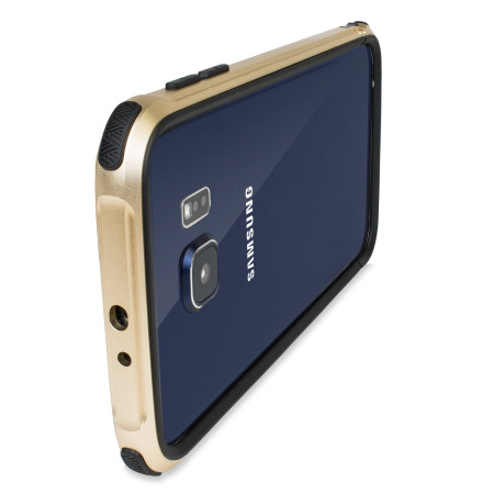 the latest 3f5ca c7117 X-Doria Defense Gear Samsung Galaxy S6 Metal Bumper Case - Gold