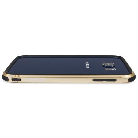 X-Doria Defense Gear Samsung Galaxy S6 Metal Bumper Case - Gold