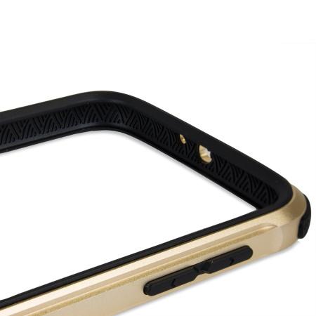 x doria defense gear samsung galaxy s6 metal bumper case gold designs have