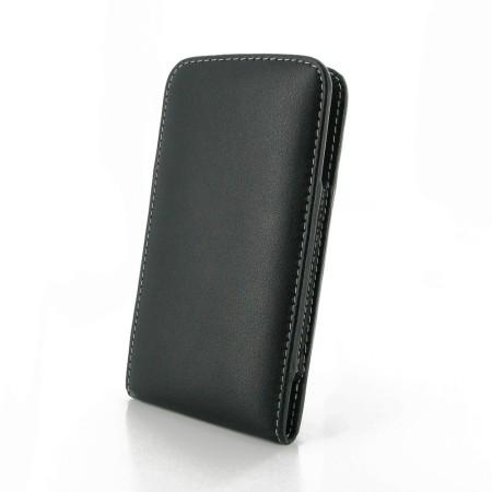 Etui Cuir Samsung Galaxy S6 PDair Verticale Clip ceinture - Noir a77eac8e17e