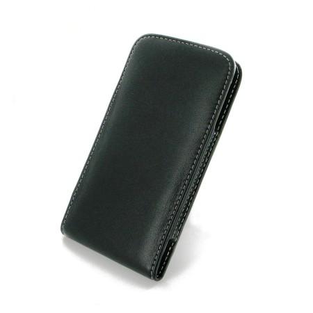 PDair Leather Vertical Samsung Galaxy S6 Edge Pouch Case w/ Belt Clip