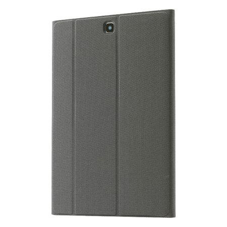 Official Samsung Galaxy Tab A 9.7 Book Cover - Dark Titanium