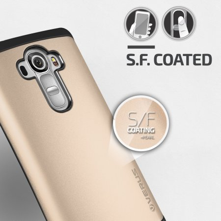 Verus Hard Drop LG G4 Case - Shine Gold