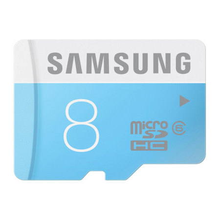 Samsung 8GB MicroSD HC Card with SD Adapter - Class 6