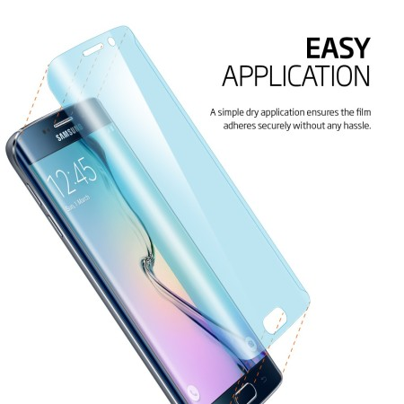 loved spigen full body samsung galaxy s6 edge curved screen protector pack