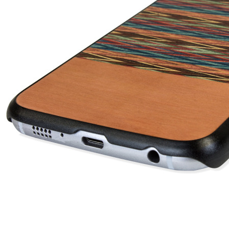 huge discount f8385 1bea1 Man&Wood Samsung Galaxy S6 Wooden Case - Browny Check