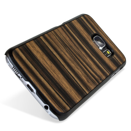 separation shoes 21cc3 689d0 Man&Wood Samsung Galaxy S6 Wooden Case - Ebony