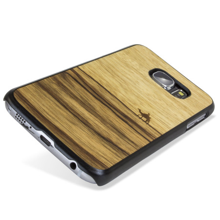 the man&wood samsung galaxy s6 wooden case terra the star