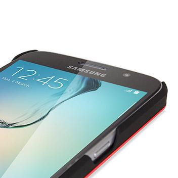 Olixar Aluminium Samsung Galaxy S6 Shell Case - Red