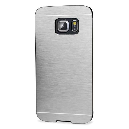 olixar aluminium samsung galaxy s6 edge shell case silver 11, 2011
