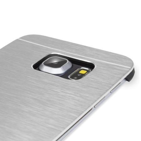 olixar aluminium samsung galaxy s6 edge shell case silver Redmi Note