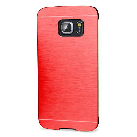 gave olixar aluminium samsung galaxy s6 shell case red said that, permit