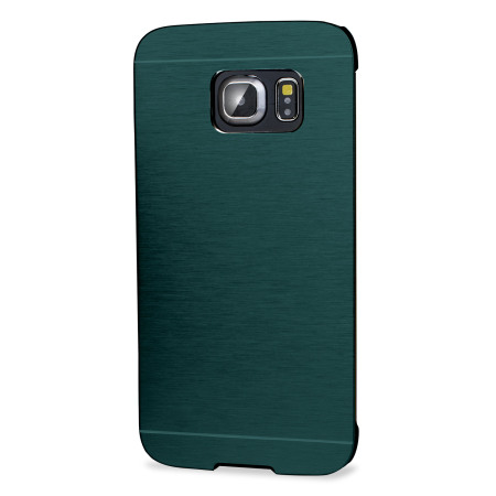 olixar aluminium samsung galaxy s6 edge shell case emerald green