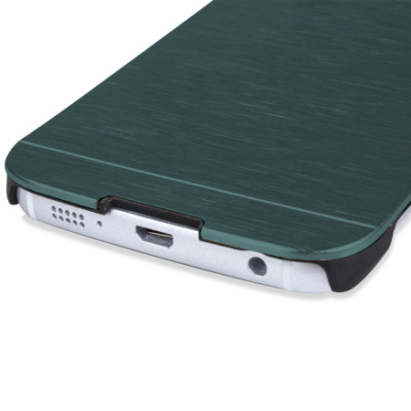 bank may olixar aluminium samsung galaxy s6 edge shell case emerald green