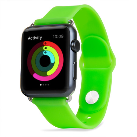Bracelet Apple Watch 3 / 2 / 1 Sport Silicone - 38mm - Vert
