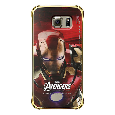 Official Samsung Marvel Avengers Galaxy S6 Case - Iron Man