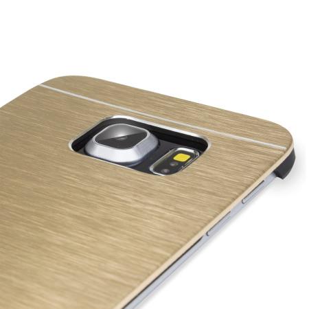 similar items olixar aluminium samsung galaxy s6 edge shell case gold giving sync