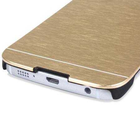 equipment olixar aluminium samsung galaxy s6 edge shell case silver