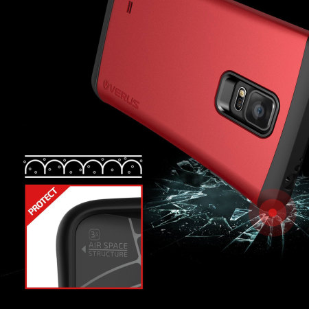 Verus Thor Samsung Galaxy Note Edge Case - Red