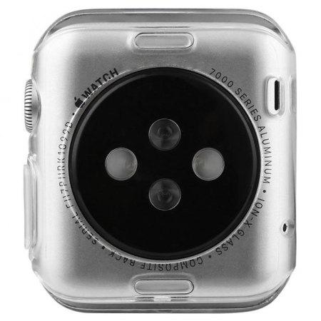 Baseus Apple Watch 2 / 1 Transparent Shell Case - 38mm - Twin Pack