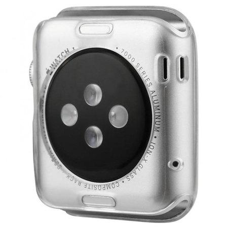 Baseus Apple Watch 2 / 1 Transparent Shell Case - 42mm - Twin Pac