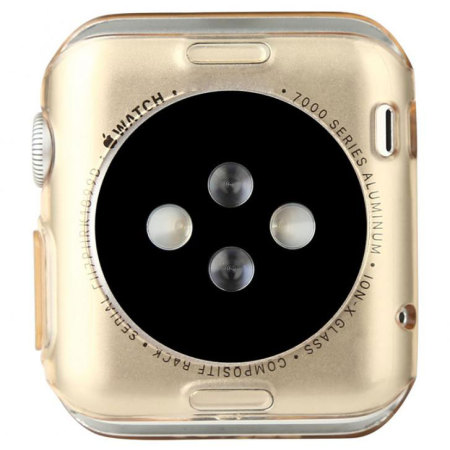 Baseus Apple Watch 2 / 1 Transparent Shell Case - 42mm - Twin Pac