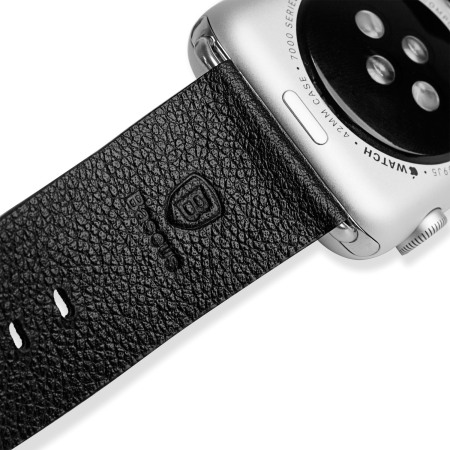 Baseus Apple Watch 2 / 1 Premium Genuine Leather Strap - 42mm - Blac