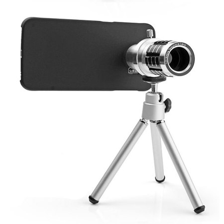 Samsung Galaxy S6 Edge 12x Zoom Telescope Case and Tripod