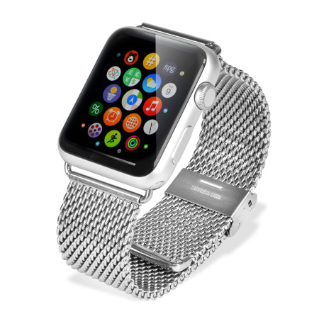 Olixar Apple Watch 2 / 1 Classic Stainless Steel Strap - 38mm - Silve