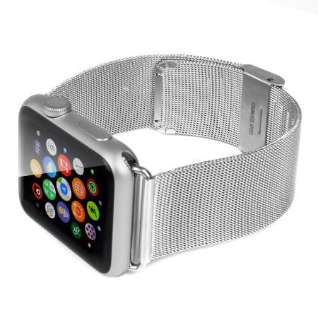Olixar Apple Watch 2 / 1 Elegant Stainless Steel Strap - 42mm - Silver