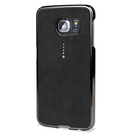 Samsung Galaxy S6 Edge Bling Case with Swarovski Elements - Black - Mobile  Fun Ireland f7f922e91d39