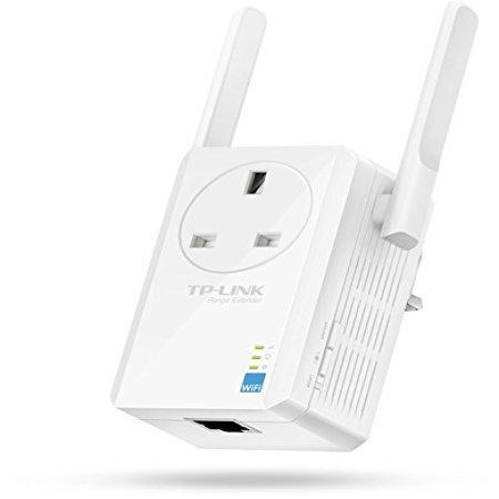 Repetidor Wifi TP-LINK 300Mbps Universal con pasarela AC - Blanco