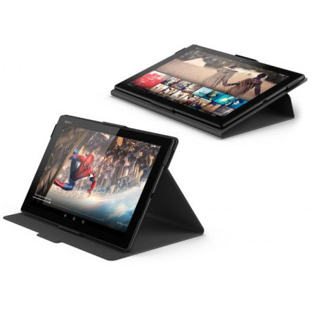 Official Sony Xperia Z4 Tablet Style Cover Stand Case - Black