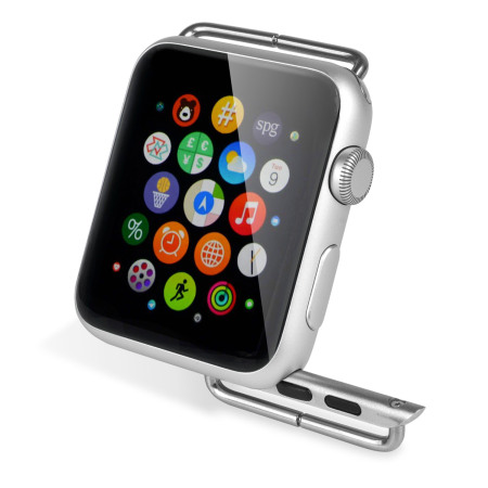 Olixar Apple Watch Strap Adapter - 38mm - Metal