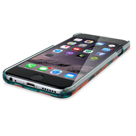 kenzo leopard iphone 6 designer case orange. Black Bedroom Furniture Sets. Home Design Ideas