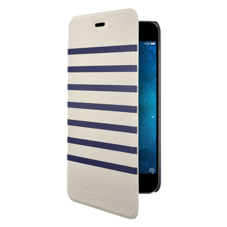 Jean Paul Gaultier Striped Sailor iPhone 6S Plus / 6 Plus Folio Case