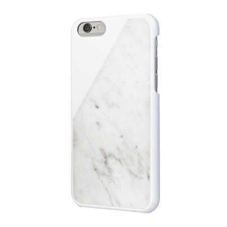 Native Union CLIC Real Marble iPhone 6S   6 Case - White 8ebcfdbfc