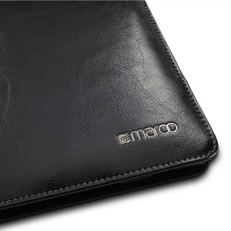 Maroo Microsoft Surface 3 Leather Folio Case - Obsidian Black