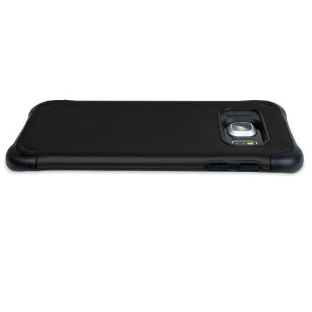 Olixar ArmourLite Samsung Galaxy S6 Edge Case - Black