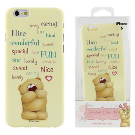 Forever Friends iPhone 6S / 6 Case with Screen Protector Mellow Yellow