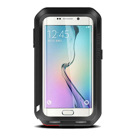 Love Mei Powerful Samsung Galaxy S6 Edge Protective Case - Black