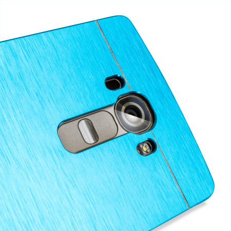 Olixar Aluminium LG G4 Shell Case - Electric Blue