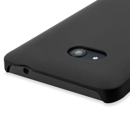 ToughGuard Microsoft Lumia 640 Rubberised Case - Black
