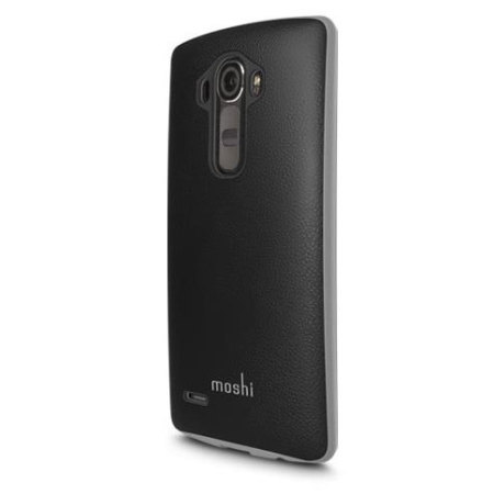 Moshi iGlaze Napa LG G4 Vegan Leather Case - Black