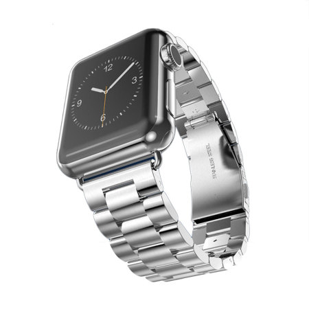 Hoco Apple Watch Stainless Steel Strap - 38mm - Silver