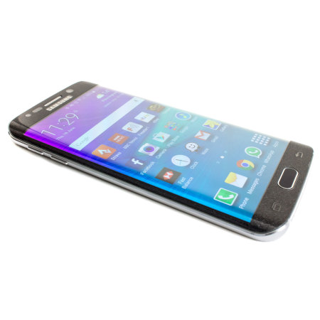 Olixar Samsung Galaxy S6 Edge Curved Glass Screen Protector - Black